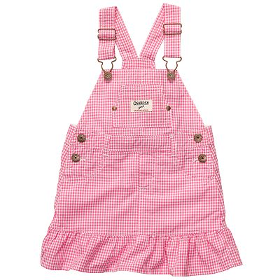 OshKosh B'gosh Checked Poplin Jumper - Baby