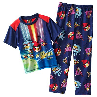 Angry Birds Space Final Fowl Pajama Set - Boys 4-10