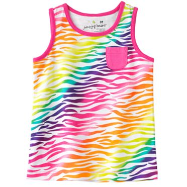 Jumping Beans Zebra Tank - Toddler