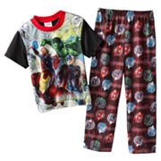 Marvel The Avengers Heroes Fall In Pajama Set - Boys 4-10