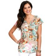 daisy fuentes Watercolor Henley