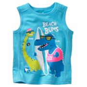 Jumping Beans Dinosaur Beach Bums Muscle Tee - Toddler