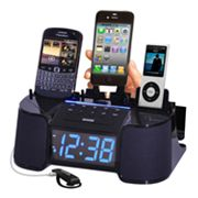 DOK 4-Port Alarm Clock Charger