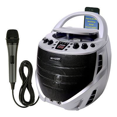 Emerson Portable CD+G Karaoke Machine
