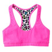 SO Leopard Reversible Sports Bra - Girls