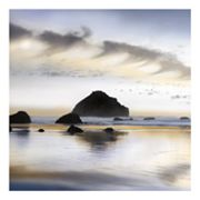 Twilight On The Coastline Wall Art