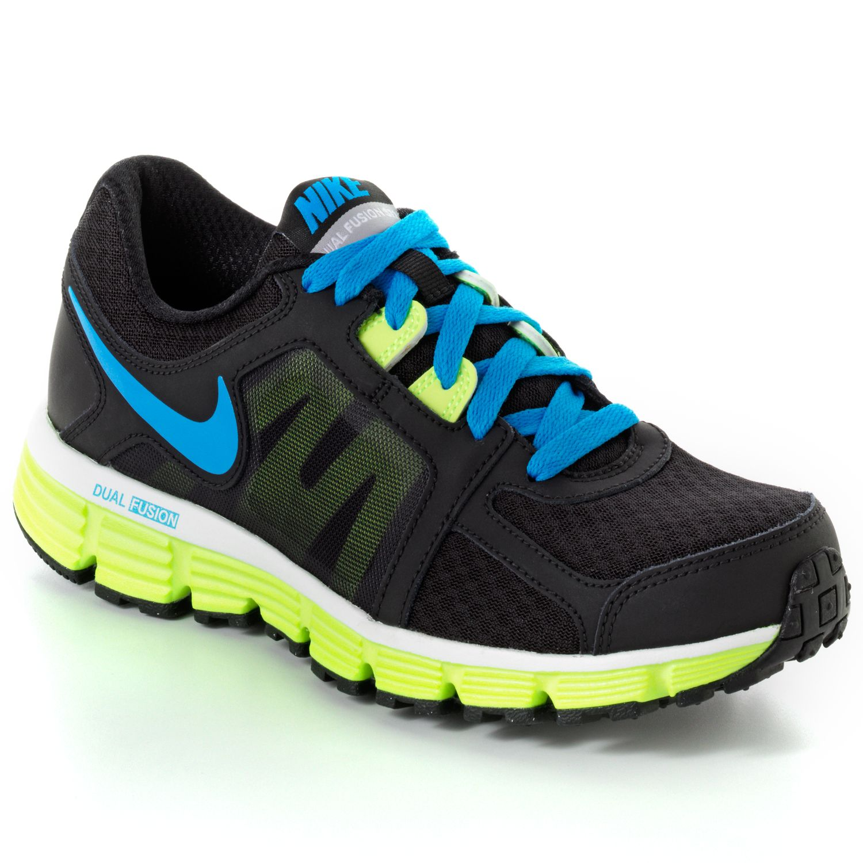 Nike Black Dual Fusion ST 2 High-Performance Running Shoes - Women