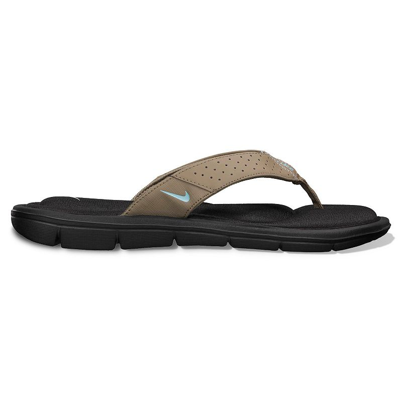 Nike South Beach Flip Flops Brown