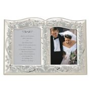 Lenox Opal Innocence Double Invitation Frame