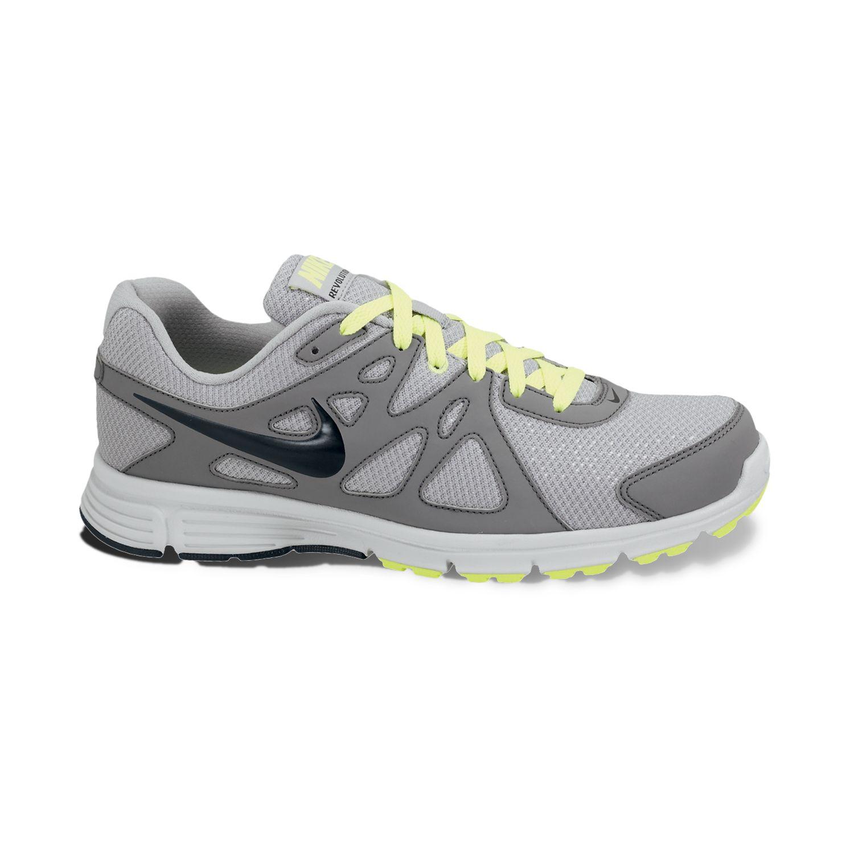 Nike Black Revolution 2 Wide Running Shoes - Men