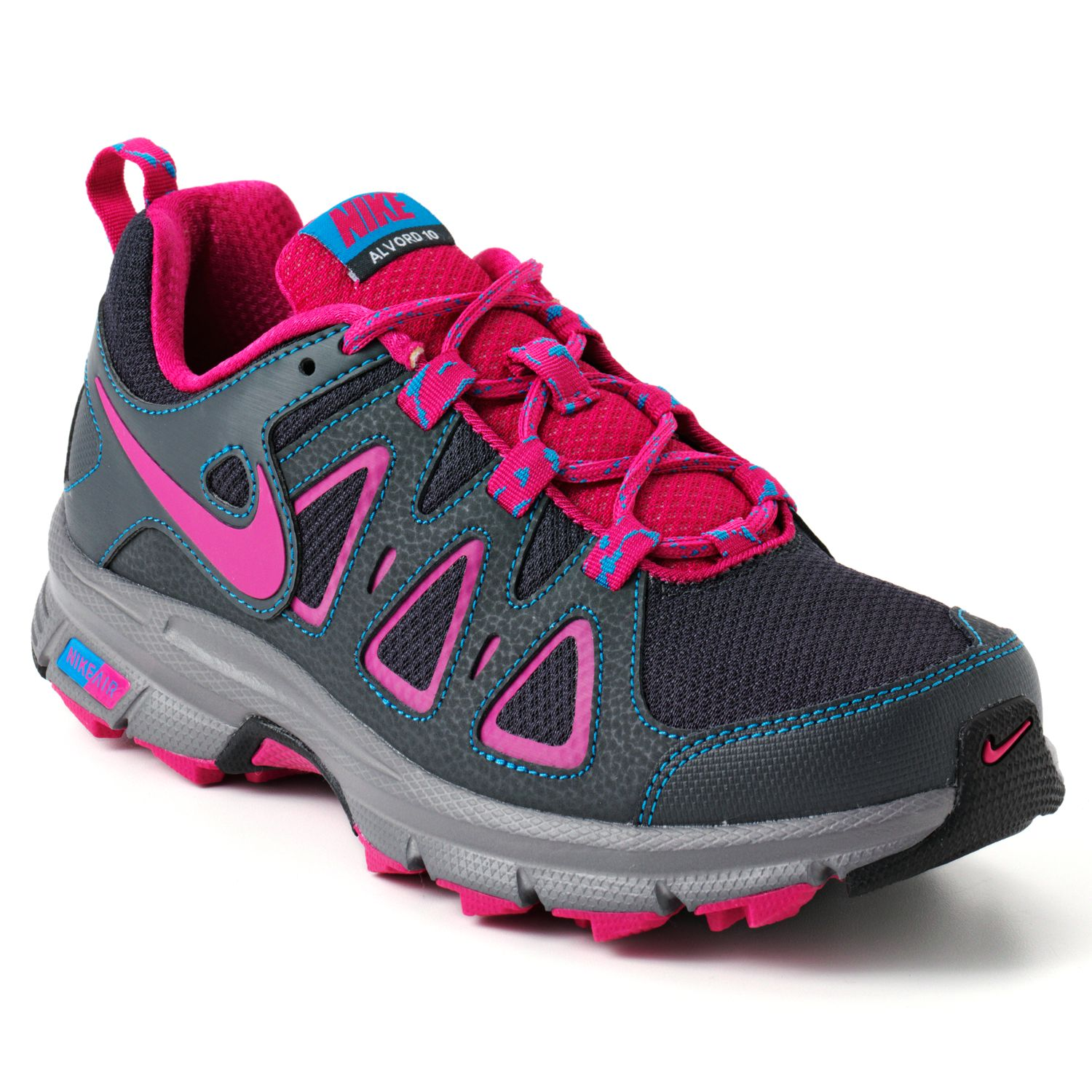 Nike Black Air Alvord 10 Wide Trail Running Shoes - Women