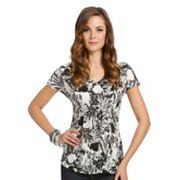 daisy fuentes Leaf Top