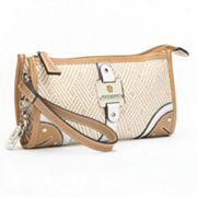 Rosetti Sally Colorblock Straw Wristlet
