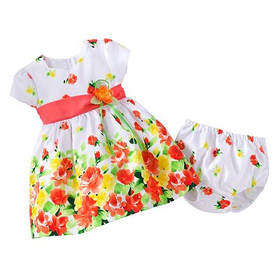 Bonnie Jean Floral Dress - Baby