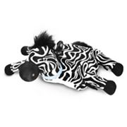 Zoobies Blanket Pets Zulu the Zebra