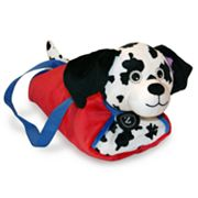 Zoobies Duffel Dogs Dot the Dalmatian