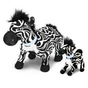 Zoobies Blanket Pets Zulu the Zebra and Mini Plush