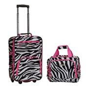 Rockland Print 2 pc Luggage Set
