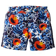 Sesame Street Hawaiian Elmo Swim Shorts - Baby