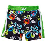 Sesame Street Hawaiian Swim Shorts - Baby