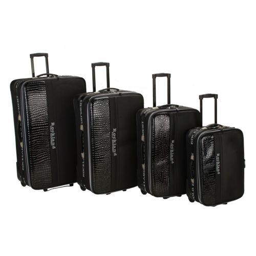 Rockland Luggage, Polo Equipment 4-pc. Expandable Wheeled Luggage Set