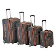 Rockland Luggage, Polo Equipment 4-pc. Expandable Wheeled Luggage Set