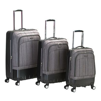 Rockland 3-pc. Spinner Luggage Set