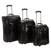 Rockland 3-pc. Expandable Wheeled Luggage Set