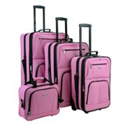 Rockland Luggage, 4-pc. Luggage Set