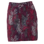 SONOMA life + style Original Fit Essential Leaf Twill Skort