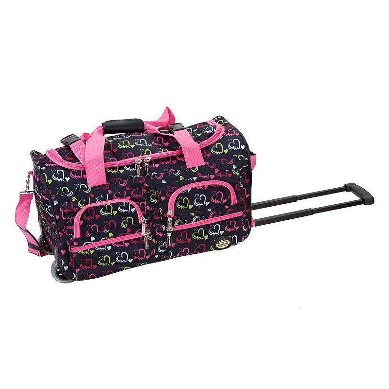 Rockland Luggage, Heart Wheeled Duffel Bag
