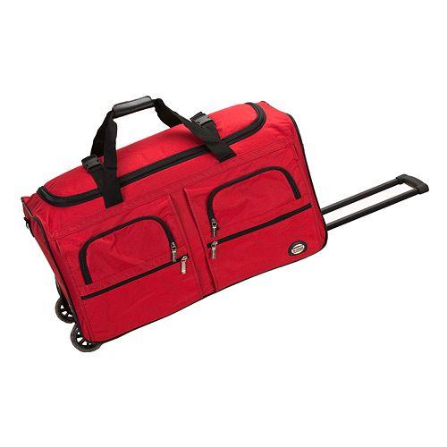 55f25f27436 Rockland 30-Inch Rolling Duffel Bag
