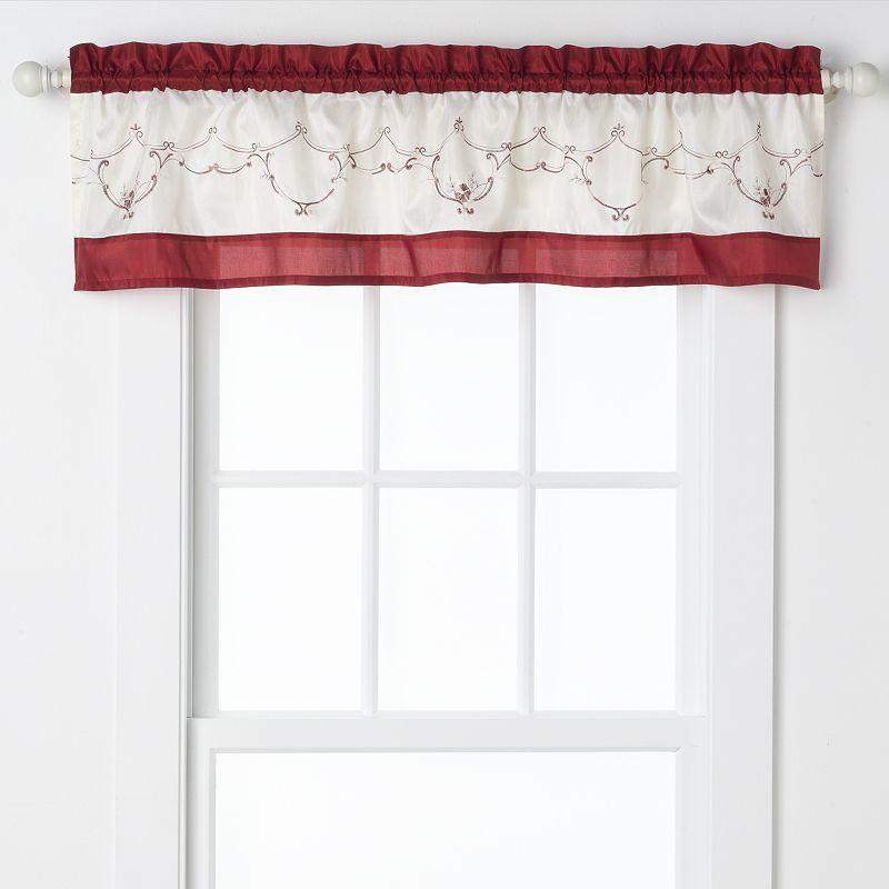 Kohl S Kitchen Curtains: Kitchen Valance