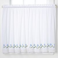 CHF Leighton Tailored Tier Curtains - 30'' x 36''