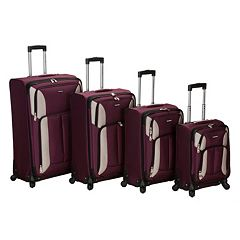 Rockland Luggage, 4-pc. Spinner Luggage Set