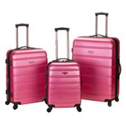 Rockland 3-pc. Expandable Hardside Spinner Luggage Set