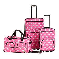 Rockland Luggage, 3-pc. Wheeled Luggage Set