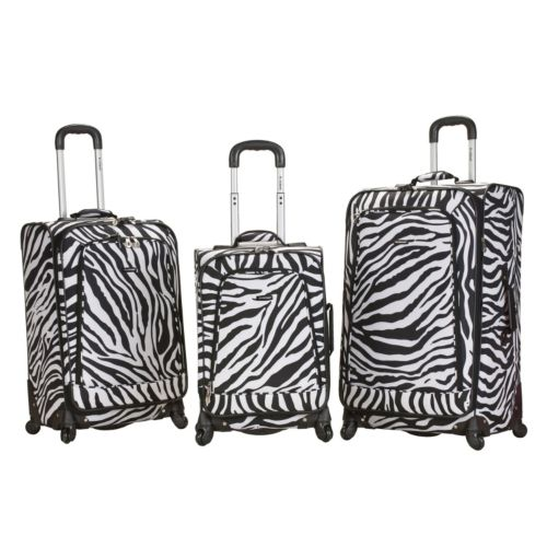 Rockland Luggage, 3-pc. Polo Equipment Expandable Spinner Luggage Set