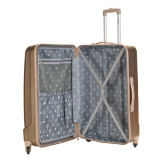 Rockland 3-Piece Hardside Spinner Glossy Luggage Set