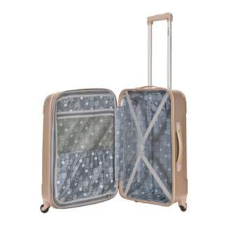Rockland 3-Piece Hardside Spinner Matte Luggage Set