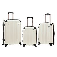Rockland 3 pc Hardside Spinner Matte Luggage Set