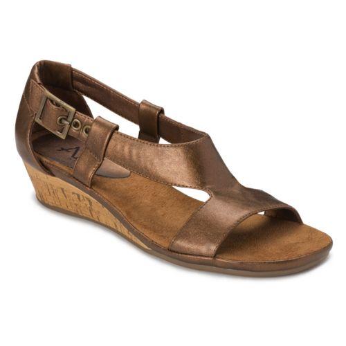 A2 by Aerosoles Crown Chewls Wide Wedge Sandals - Women