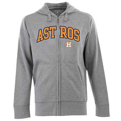 Houston Astros Signature Zip Front Fleece Hoodie - Men