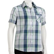 Tony Hawk Big Plaid Button-Down Shirt - Men