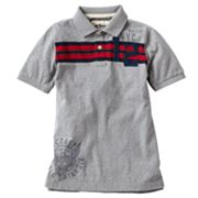 Urban Pipeline Striped Graphic Polo - Boys 8-20