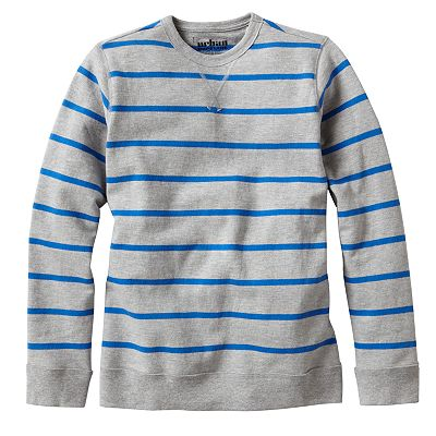 Urban Pipeline Striped Fleece Sweater - Boys 8-20