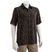Batik Bay Rayon Square Casual Button-Down Shirt
