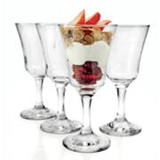 Circleware Madeline 4-pc. Dessert Glass Set