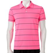 Urban Pipeline Striped Performance Polo - Men