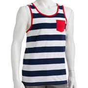 Urban Pipeline Rugby-Striped Tank Top - Men
